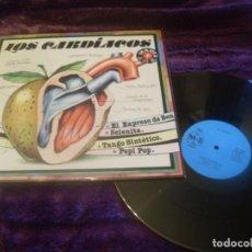 Discos de vinilo: LOS CARDIACOS MAXI SINGLE. EL EXPRESO DE BENGALA MADE IN SPAIN. 1982. Lote 195372458