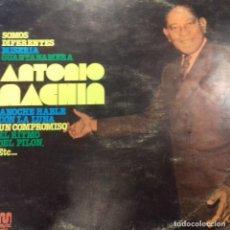 Discos de vinilo: ANTONIO MACHIN SOMOS DIFERENTES . Lote 195374670