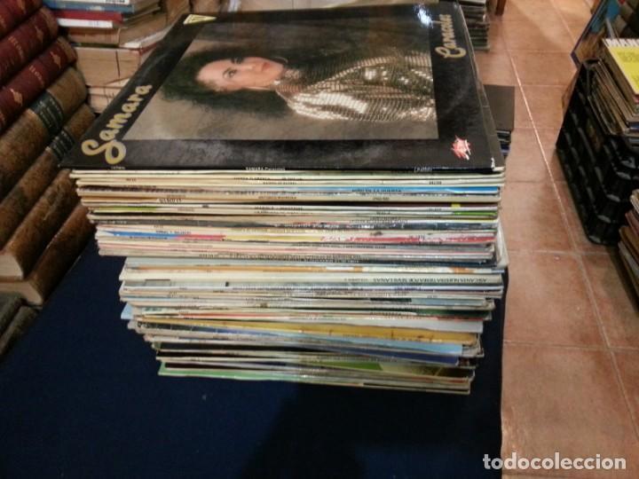 LOTE DE 86 DISCOS LPS. DE FLAMENCO.VARIAS ÉPOCAS. (Música - Discos - LP Vinilo - Flamenco, Canción española y Cuplé)