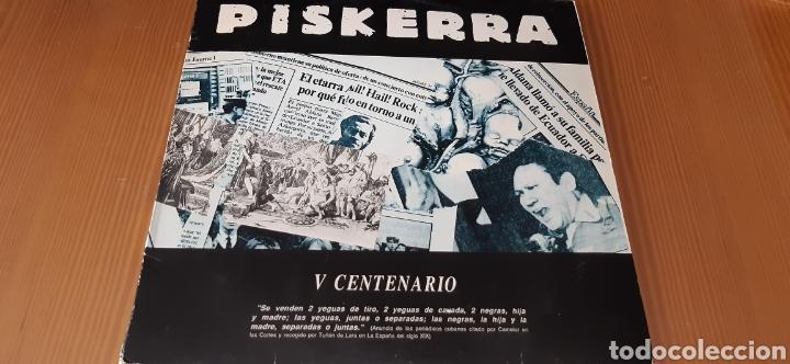 DISCO VINILO LP PISKERRA (Música - Discos - LP Vinilo - Punk - Hard Core)