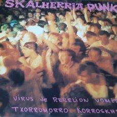 Discos de vinilo: DISCO VINILO LP SKALHERRIA PUNK. Lote 195377887