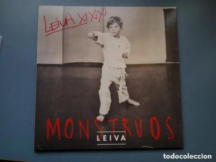 LEIVA - MONSTRUOS - EDICION VINILO FIRMADA - A ESTRENAR (Música - Discos - LP Vinilo - Grupos Españoles de los 90 a la actualidad)