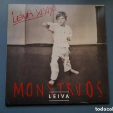 Discos de vinilo: LEIVA - MONSTRUOS - EDICION VINILO FIRMADA - A ESTRENAR. Lote 195378336