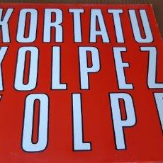 Discos de vinilo: DISCO VINILO LP KORTATU. Lote 195378922