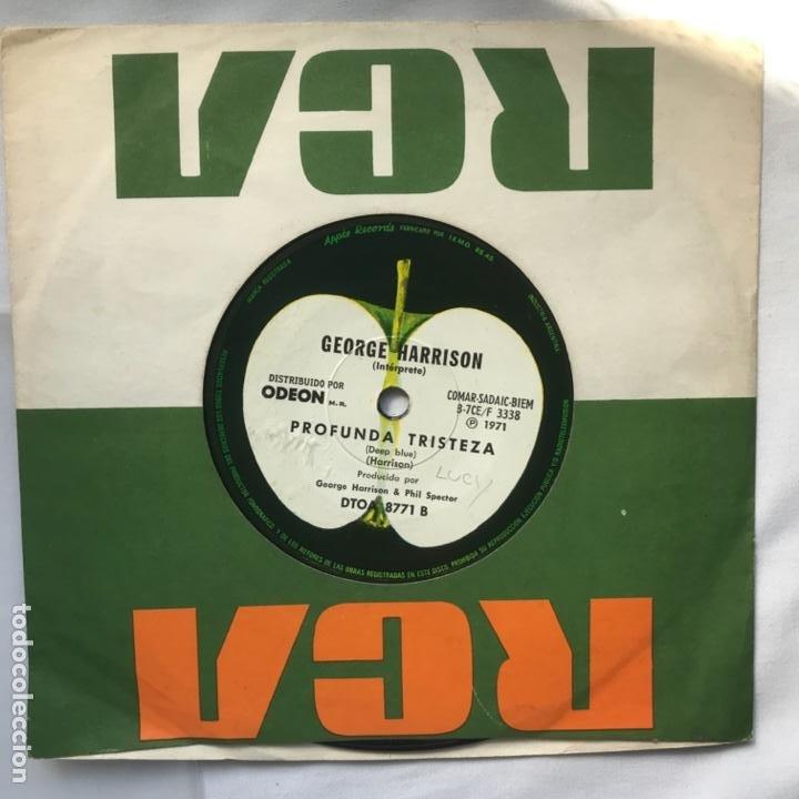 GEORGE HARRISON – BENGALA LIBRE / PROFUNDA TRISTEZA 1971 ARGENTINA (Música - Discos - Singles Vinilo - Pop - Rock - Extranjero de los 70)
