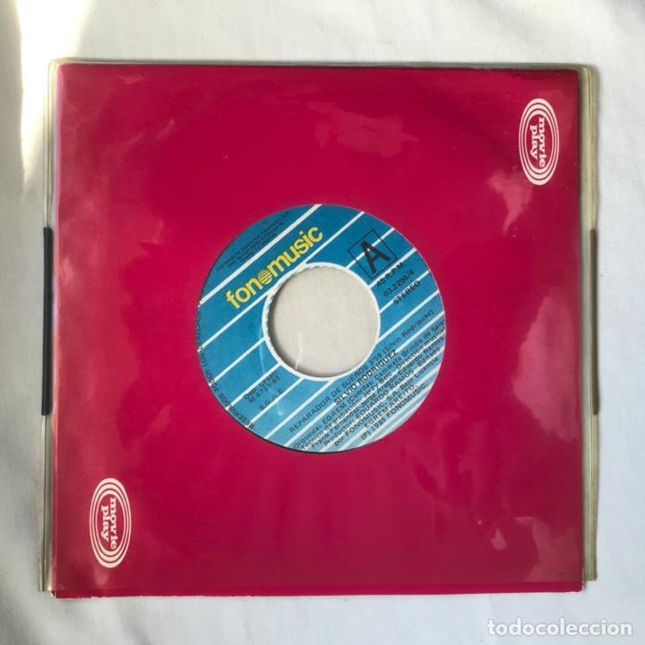 Discos de vinilo: Silvio Rodríguez – El Reparador De Sueños / Angel Para Un Final 1984 PROMO - Foto 3 - 195379977
