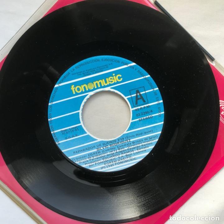 Discos de vinilo: Silvio Rodríguez – El Reparador De Sueños / Angel Para Un Final 1984 PROMO - Foto 4 - 195379977