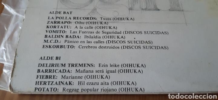 Discos de vinilo: Doble disco vinilo BAT,BI,HIRU...HAMAR!! - Foto 5 - 195380348