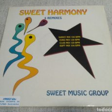 Discos de vinilo: SWEET MUSIC GROUP - SWEET HARMONY (REMIXES). Lote 195380711