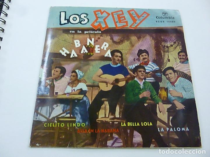 LOS XEY - LA PALOMA + 3 -EP - N (Música - Discos de Vinilo - EPs - Bandas Sonoras y Actores)