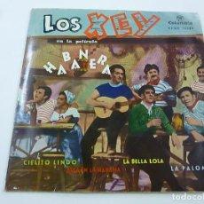 Discos de vinilo: LOS XEY - LA PALOMA + 3 -EP - N. Lote 195381050