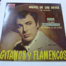 Discos de vinilo: MIGUEL DE LOS REYES Y SU CONJUNTO - COPLAS + 3 - EP -N. Lote 195381330