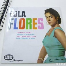 Discos de vinilo: LOLA FLORES EP LIMOSNA DE AMORES AÑO 1961- N . Lote 195381470