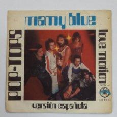Discos de vinilo: POP TOPS - MAMY BLUE / LOVE MOTION. SINGLE. TDKDS10. Lote 195381766