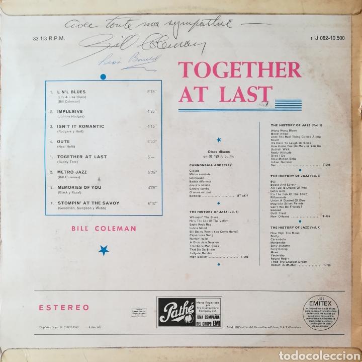 Discos de vinilo: Disco Bill Coleman - Foto 2 - 195381825