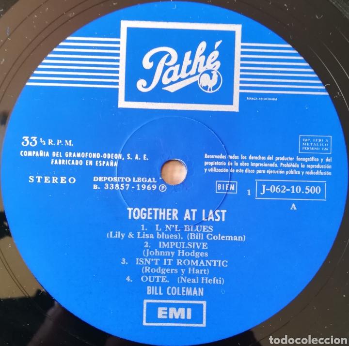 Discos de vinilo: Disco Bill Coleman - Foto 3 - 195381825