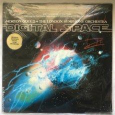 Discos de vinilo: MORTON GOULD, THE LONDON SYMPHONY ORCHESTRA – DIGITAL SPACE GAT 1979 US NEW. Lote 195381888