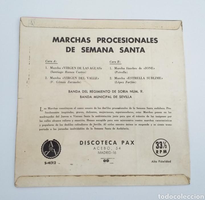 Discos de vinilo: Banda Soria 9 - marchas Procesionales 1964 - Foto 2 - 195382093