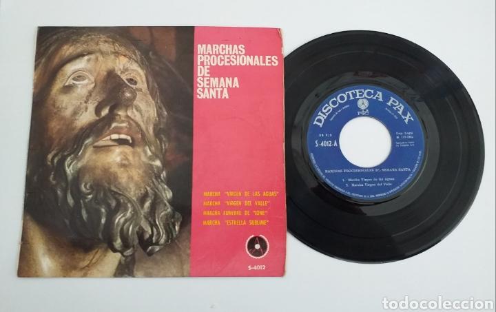 BANDA SORIA 9 - MARCHAS PROCESIONALES 1964 (Música - Discos - Singles Vinilo - Clásica, Ópera, Zarzuela y Marchas)