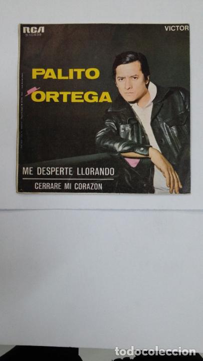Discos de vinilo: PALITO ORTEGA - ME DESPERTE LLORANDO - SINGLE. TDKDS10 - Foto 2 - 195382347