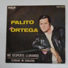 Discos de vinilo: PALITO ORTEGA - ME DESPERTE LLORANDO - SINGLE. TDKDS10. Lote 195382347