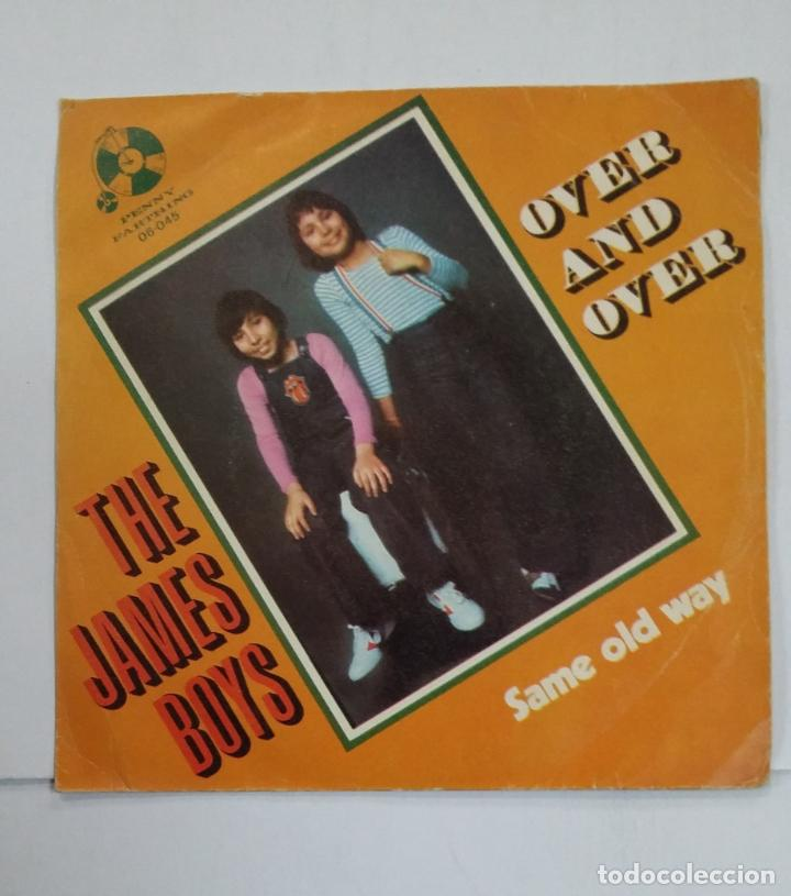 THE JAMES BOYS. OVER AND OVER/ SAME OLD WAY. TDKDS10 (Música - Discos - Singles Vinilo - Pop - Rock - Extranjero de los 70)