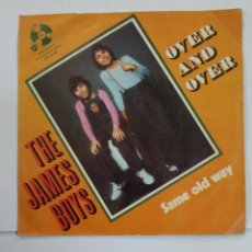 Discos de vinilo: THE JAMES BOYS. OVER AND OVER/ SAME OLD WAY. TDKDS10. Lote 195382502