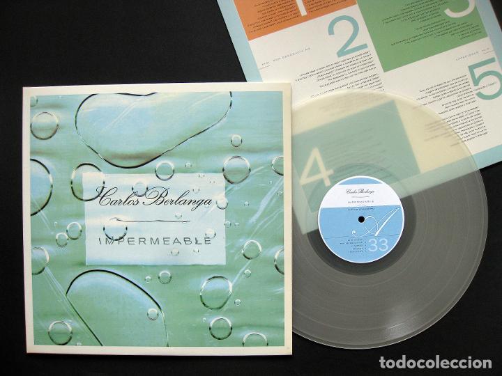 CARLOS BERLANGA – IMPERMEABLE – VINILO 2001 (Música - Discos - LP Vinilo - Grupos Españoles de los 90 a la actualidad)