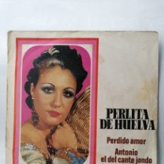 Discos de vinilo: PERLITA DE HUELVA. Lote 195383255