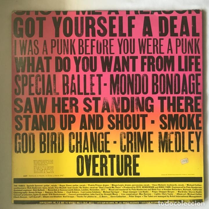 Discos de vinilo: The Tubes – What Do You Want From Live GAT 2LP 1978 - Foto 5 - 195384553