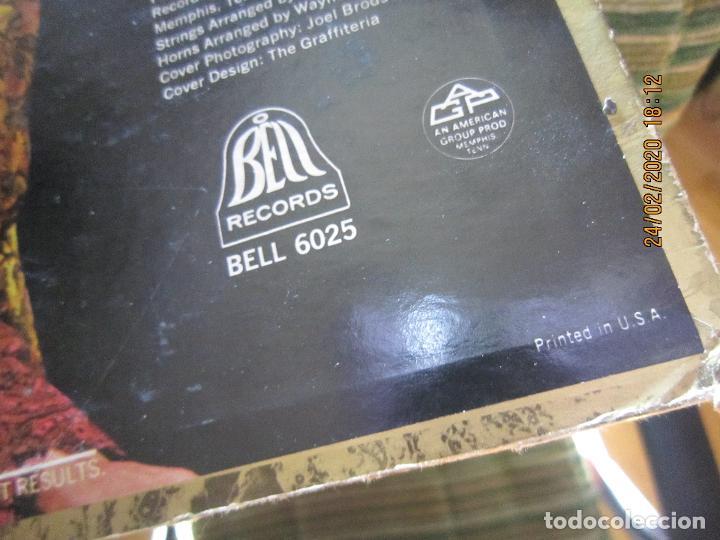 Discos de vinilo: THE BOX TOPS - SUPER HITS LP - ORIGINAL U.S.A. - BELL RECORDS 1975 - STEREO - - Foto 3 - 195384992