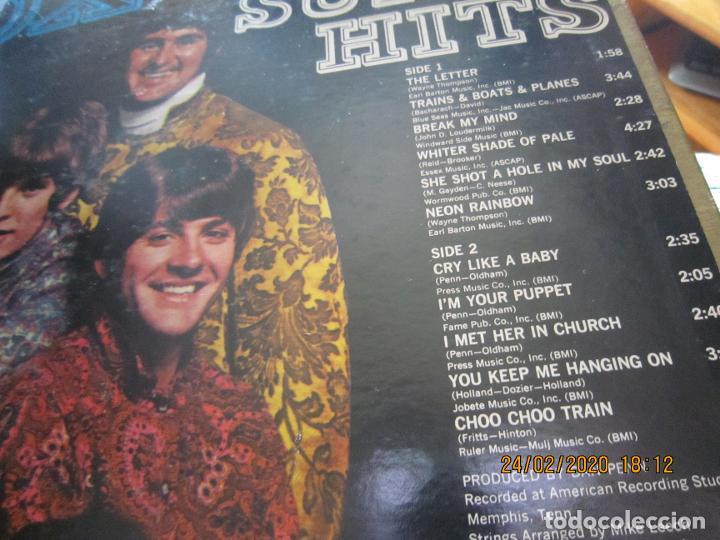 Discos de vinilo: THE BOX TOPS - SUPER HITS LP - ORIGINAL U.S.A. - BELL RECORDS 1975 - STEREO - - Foto 4 - 195384992