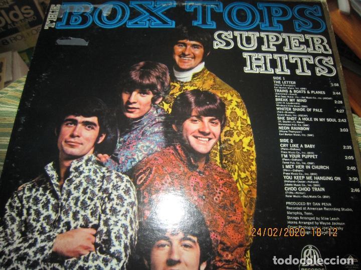 Discos de vinilo: THE BOX TOPS - SUPER HITS LP - ORIGINAL U.S.A. - BELL RECORDS 1975 - STEREO - - Foto 7 - 195384992