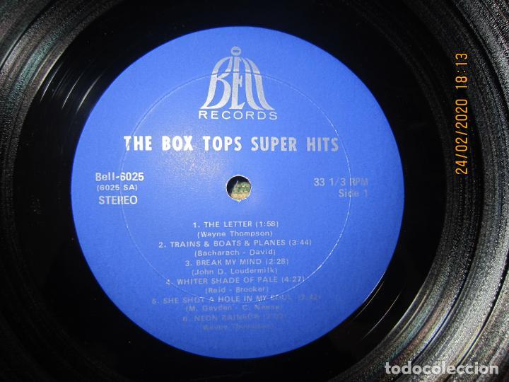 Discos de vinilo: THE BOX TOPS - SUPER HITS LP - ORIGINAL U.S.A. - BELL RECORDS 1975 - STEREO - - Foto 10 - 195384992