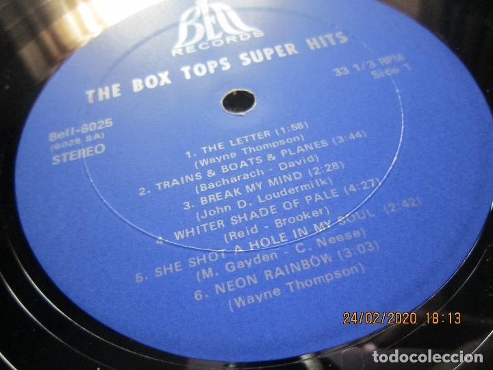 Discos de vinilo: THE BOX TOPS - SUPER HITS LP - ORIGINAL U.S.A. - BELL RECORDS 1975 - STEREO - - Foto 11 - 195384992