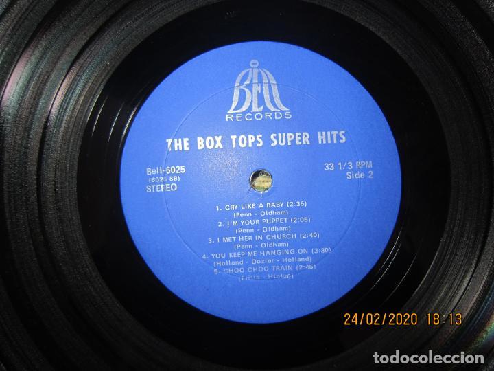 Discos de vinilo: THE BOX TOPS - SUPER HITS LP - ORIGINAL U.S.A. - BELL RECORDS 1975 - STEREO - - Foto 13 - 195384992