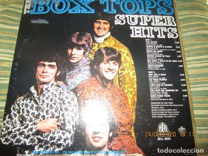 Discos de vinilo: THE BOX TOPS - SUPER HITS LP - ORIGINAL U.S.A. - BELL RECORDS 1975 - STEREO - - Foto 15 - 195384992