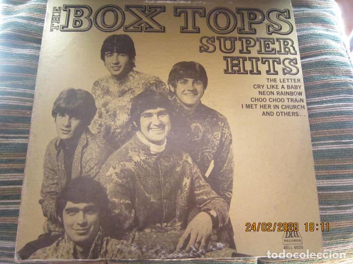 THE BOX TOPS - SUPER HITS LP - ORIGINAL U.S.A. - BELL RECORDS 1975 - STEREO - (Música - Discos - LP Vinilo - Pop - Rock Extranjero de los 50 y 60)