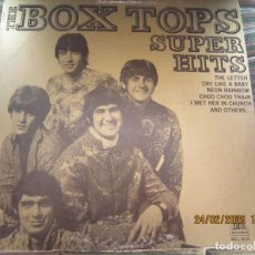 Discos de vinilo: THE BOX TOPS - SUPER HITS LP - ORIGINAL U.S.A. - BELL RECORDS 1975 - STEREO -. Lote 195384992