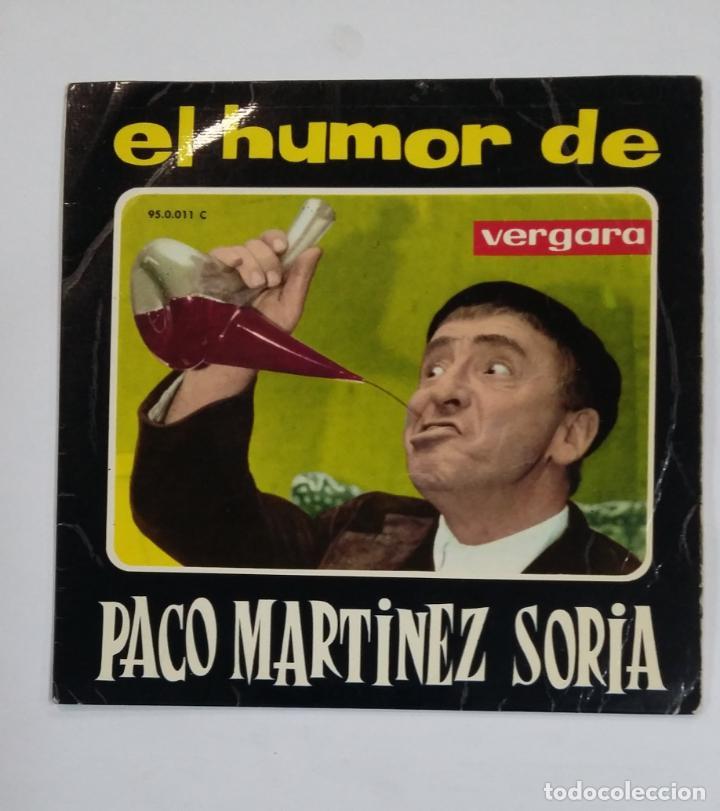 EL HUMOR DE PACO MARTINEZ SORIA. EL TARTAJA. SINGLE. TDKDS10 (Música - Discos - Singles Vinilo - Otros estilos)