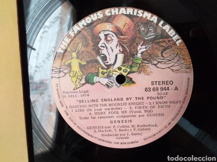 Discos de vinilo: GENESIS SELLING ENGLAND BY THE POUND ESPAÑA 1975 - Foto 2 - 195385950