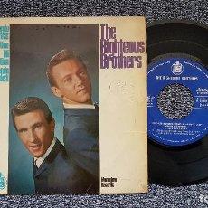 Discos de vinilo: THE RIGHTEOUS BROTHERS - DESENCADENANDO MELODIAS + 3 CANCIONES MÁS. EDITADO POR HISPAVOX. AÑO 1.965. Lote 195386696