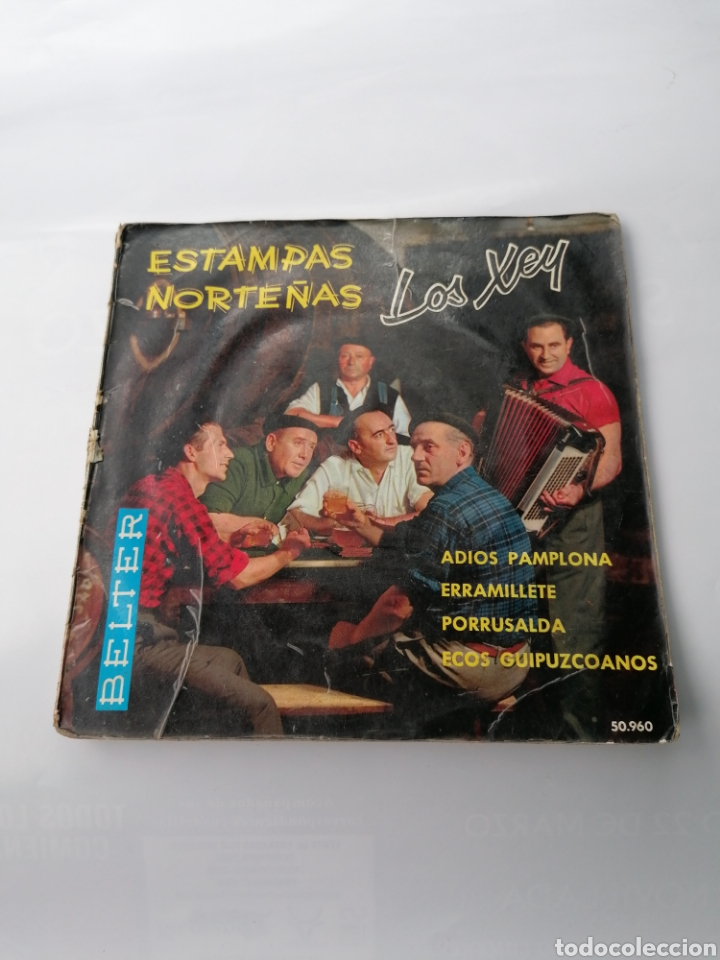 LOS XEY, DISCO LIBRO? (Música - Discos - Singles Vinilo - Otros estilos)