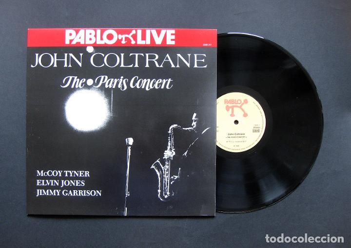 JOHN COLTRANE – THE PARIS CONCERT – VINILO (Música - Discos - LP Vinilo - Jazz, Jazz-Rock, Blues y R&B)