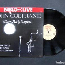 Discos de vinilo: JOHN COLTRANE – THE PARIS CONCERT – VINILO. Lote 195387501