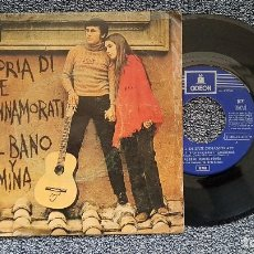 Discos de vinilo: AL BANO Y ROMINA - STORIA DI DUE INNAMORATI / QUEL POCO CHE HO. EDITADO POR ODEON. AÑO 1.970. Lote 195387810