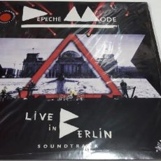 Discos de vinilo: DEPECHE MODE - LIVE IN BERLIN - 2 LPS. Lote 195388055
