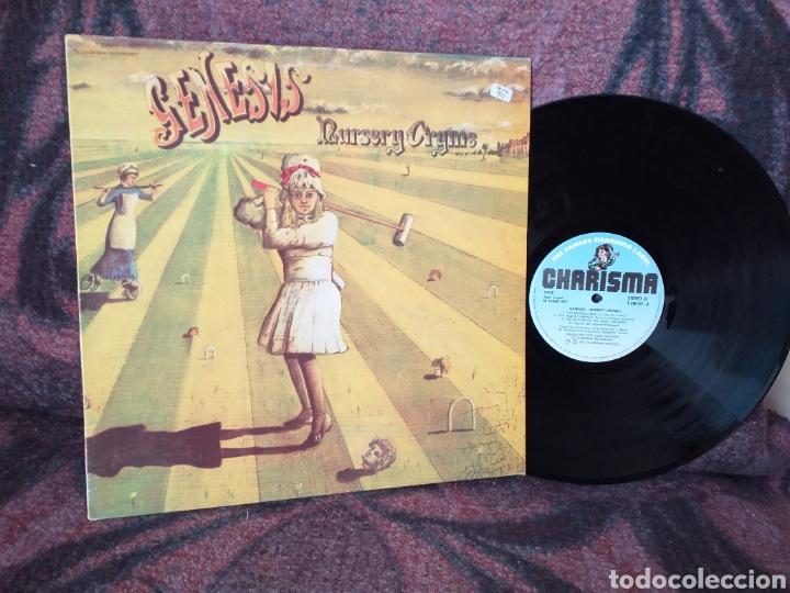 GENESIS NURSEY CRYME ESPAÑA (Música - Discos - LP Vinilo - Pop - Rock - Internacional de los 70)