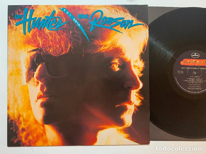 LP IAN HUNTER / MICK RONSON ‎– Y U I ORTA EDICION USA DE 1989 (Música - Discos - LP Vinilo - Pop - Rock - New Wave Extranjero de los 80)
