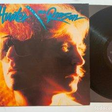 Discos de vinilo: LP IAN HUNTER / MICK RONSON – Y U I ORTA EDICION USA DE 1989. Lote 195388956